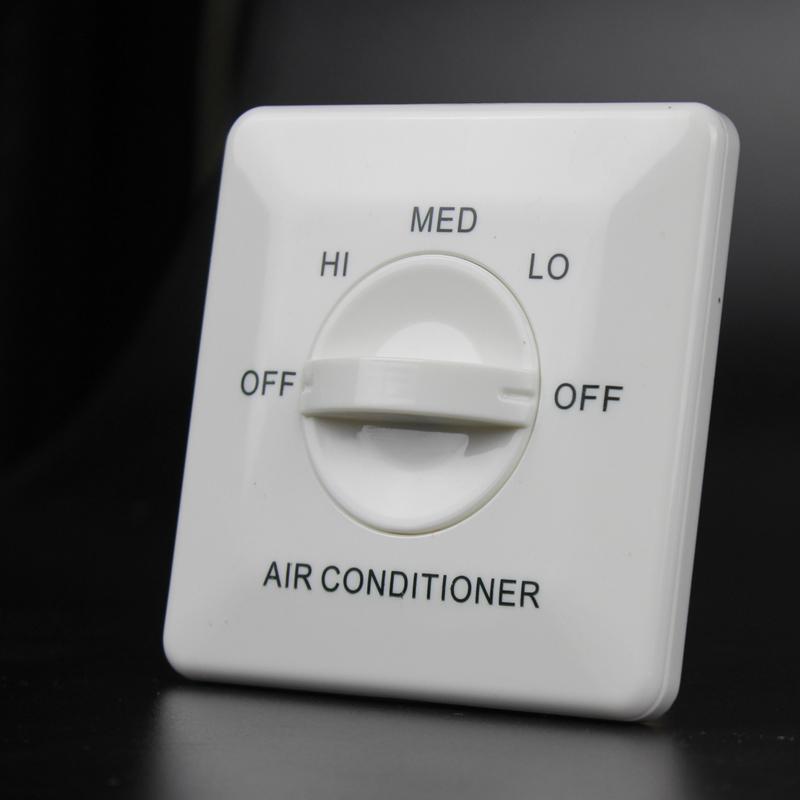 YK-302温控开关三速面板