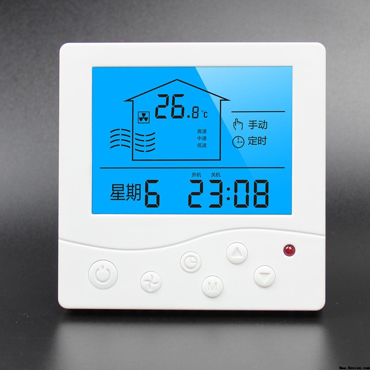 中央空调温控器安装步骤