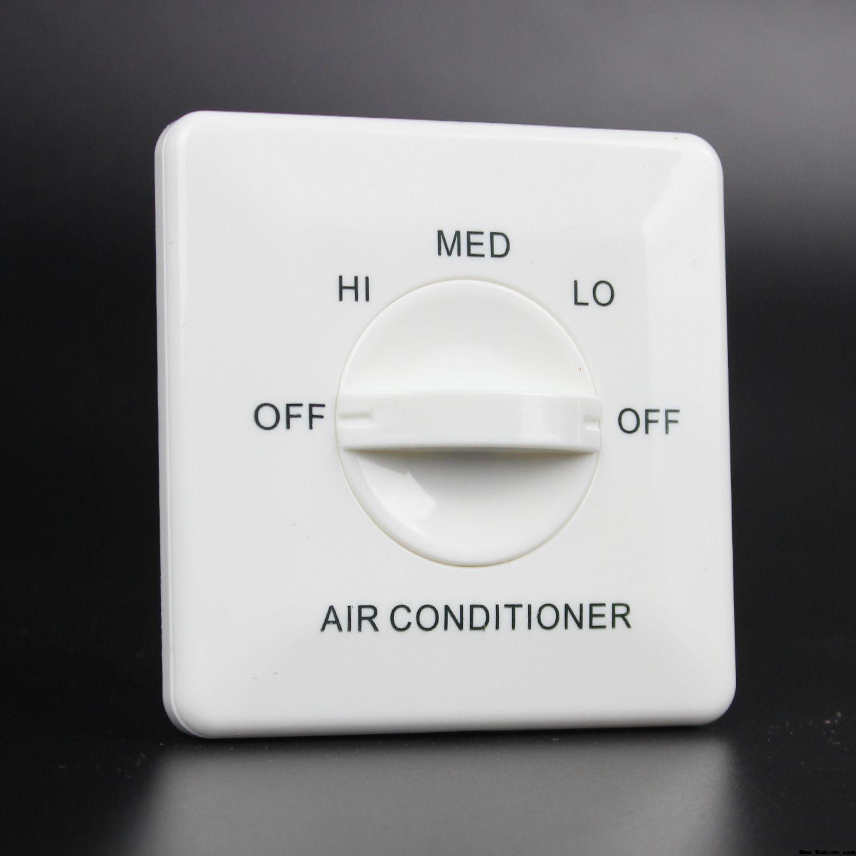 YK301空调温控开关的安装方法凯