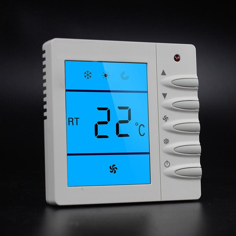 风机盘管温控器保养维护小知识 控制风机盘管的温控器